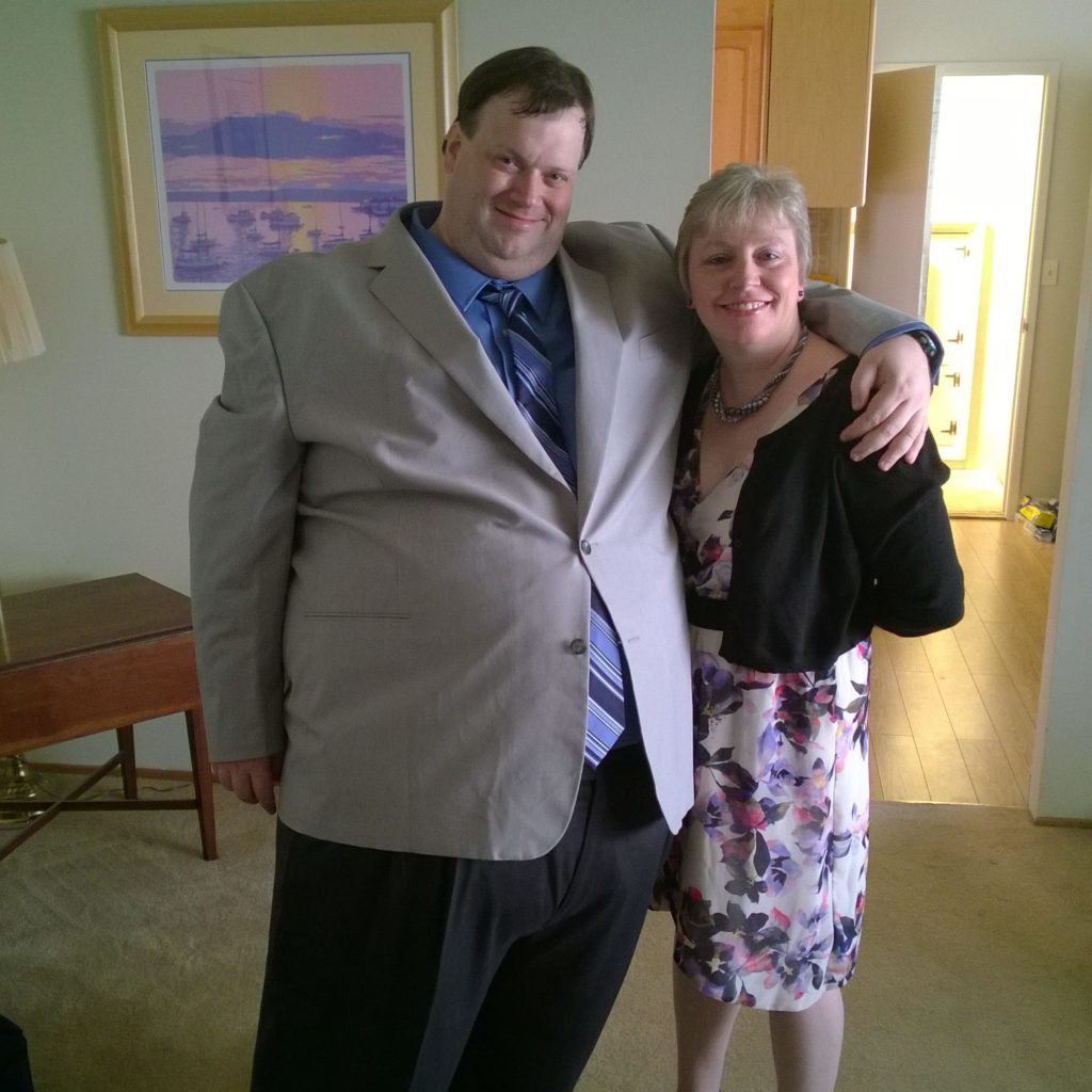 Chris success story - before photo